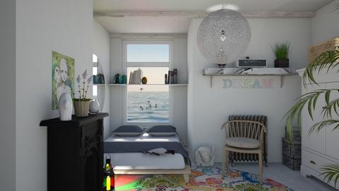 Dream - Feminine - Bedroom - by The quiet designer
