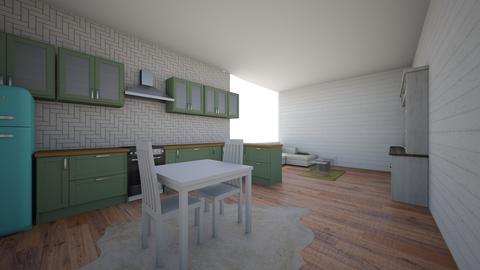 Shabby Kitchen - Kitchen - by Kathleen T