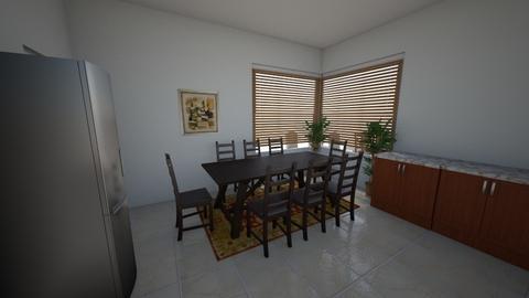 mr mohammed al bin fallah - Dining room - by lorenz