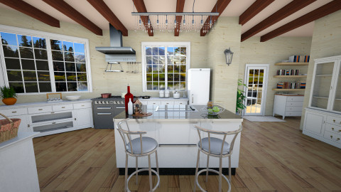 country kitchen - Kitchen - by carli1504