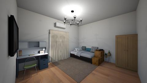 UA room - Bedroom - by AfroditeGoldie