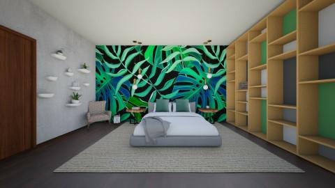 Leafy - Bedroom - by 532johanna