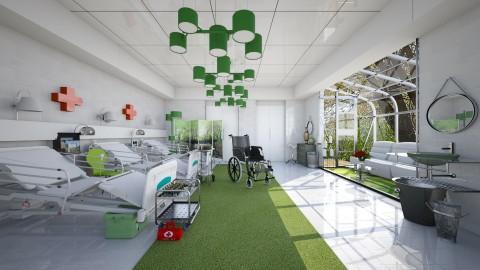 hospital - Modern - Bedroom - by Ida Dzanovic