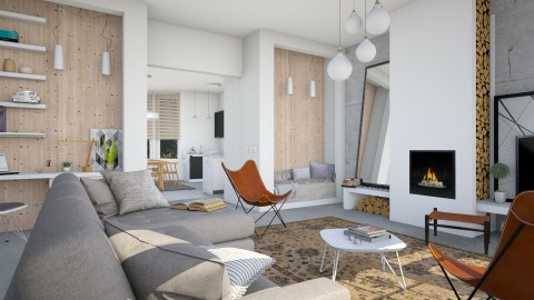 Classic Dutch House - Eclectic - Living room - by evahassing