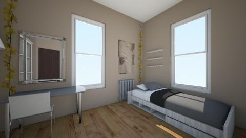 future 2 - Bedroom - by Merryn Krenz