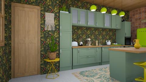 BOHO KITCHEN - Modern - Kitchen - by zayneb_17