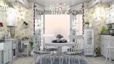 Shabby Kitchen - Feminine - Kitchen - by LuzMa HL