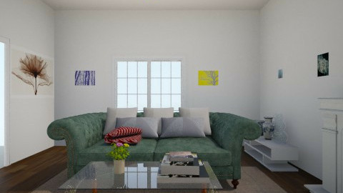 Woods Cottage Family Room - Living room - by Grace10987