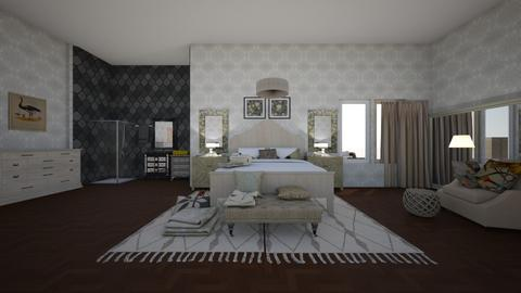 bed - by natasa mihajlovic