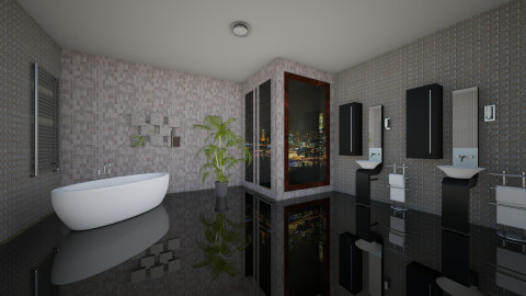 Modern Bathroom - Bathroom - by Evihun