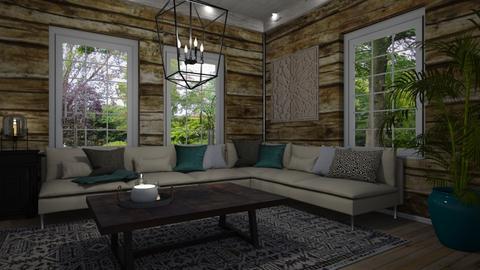 Hirsiseina - Living room - by Tuija