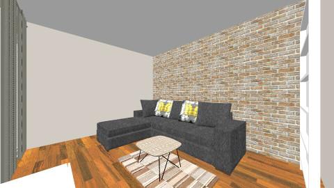 dhoma e vogel - Living room - by Viola Rexhaj
