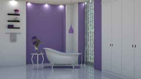 Lilac Bliss - Bathroom - by creato