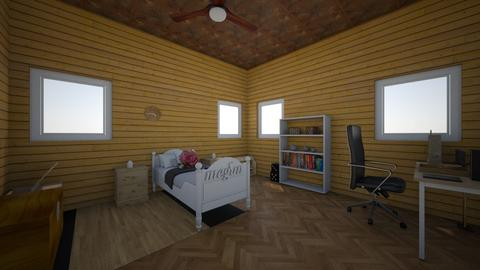 wood wood bedroom - Country - Bedroom - by moderngirl12