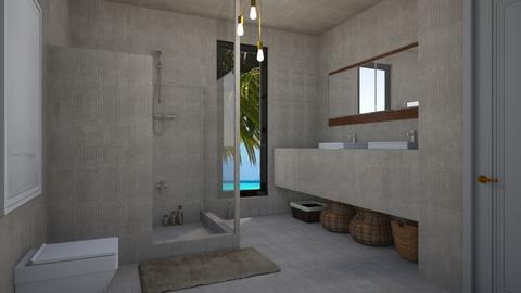 Tulum Bathroom - by rebsrebsmmg