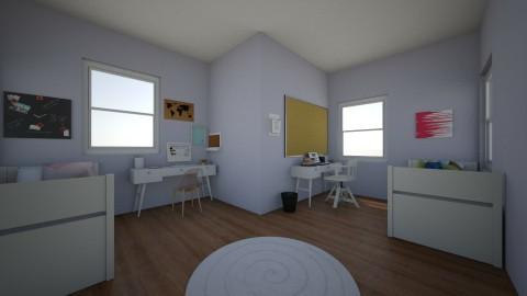 Dorm Room - by mauragibson1107