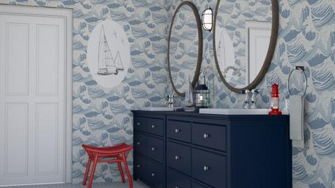 Nautical Bath - Bathroom - by kyrabaldwin