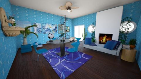 Corner Clan - Modern - Living room - by Its_Just_OJ
