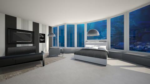 underwater bedroom - Bedroom - by aerifia