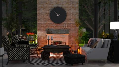 Clock - Living room - by Ebru Tekneci