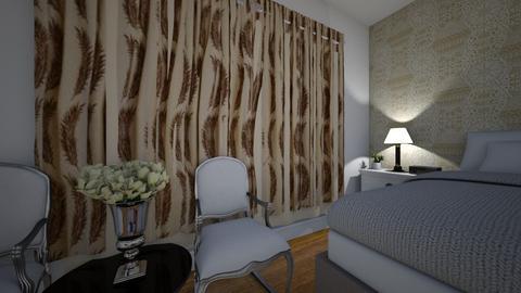 My bedroom - Bedroom - by Ayeshamasood