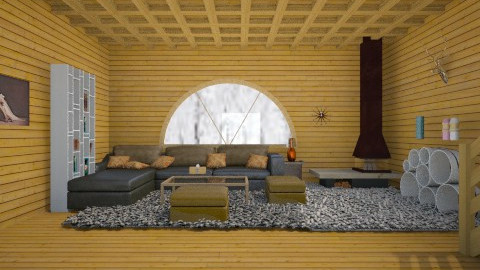 winter home - Minimal - Living room - by Karine Hakobayan