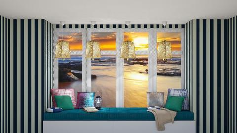 Template Baywindow Room - Living room - by Ellie665