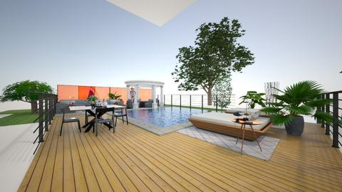 Hollywood Glam Roof top - Glamour - Garden - by rcrites457