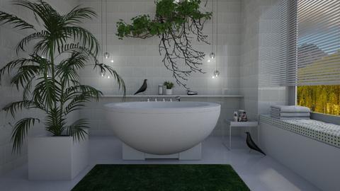Bird bath - Bathroom - by Tuija