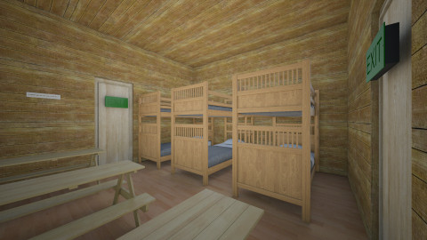 At Camps Cabin Mine - Rustic - by dharmacraig10