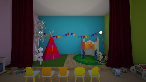 cool - Kids room - by paula1516