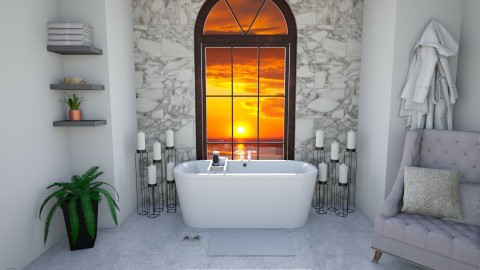 Mrble Bathroom - by molliesmith475