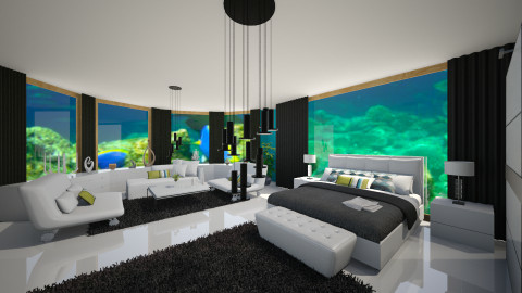 underwater - Bedroom - by marija1706