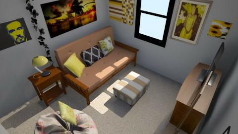 Courtney's teenage room - Bedroom - by cici45