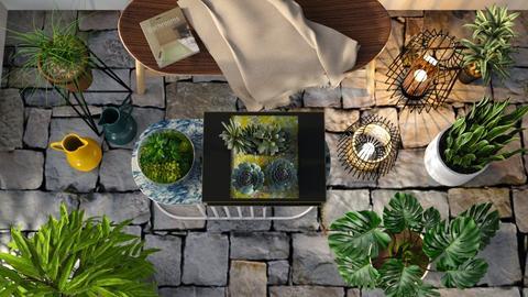 M_ Flowers _Lights - Garden - by milyca8