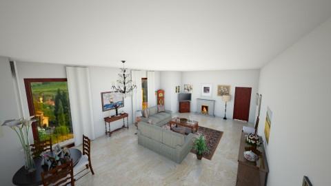 salotto - Living room - by lollouio