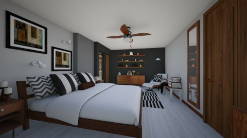 Bedroom redesign - Modern - Bedroom - by Lackew