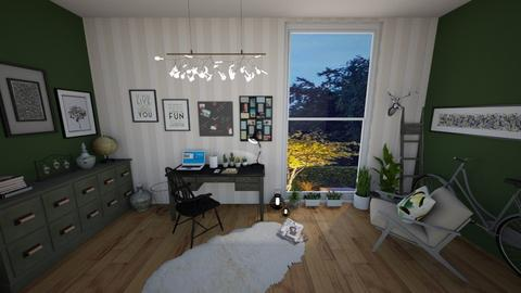 my study room - Eclectic - Office - by amilya