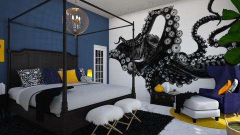 Mural Room - Bedroom - by zsjv1989gmailcom