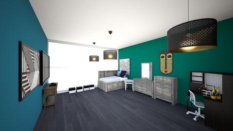Teenager Bedroom - Bedroom - by The Titan