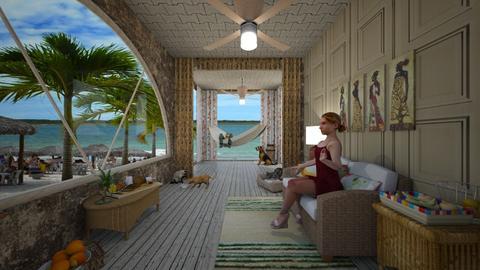 Pousada Praiana - Minimal - Living room - by Mariesse Paim