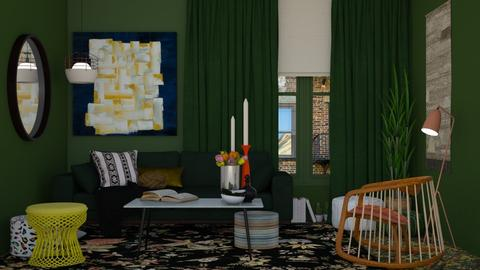 Just a bit of everything - Eclectic - Living room - by HenkRetro1960