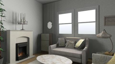 Salle de Sejour - Living room - by Rachel Elizabeth