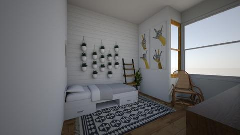 bedroom35 - Bedroom - by izzymondo