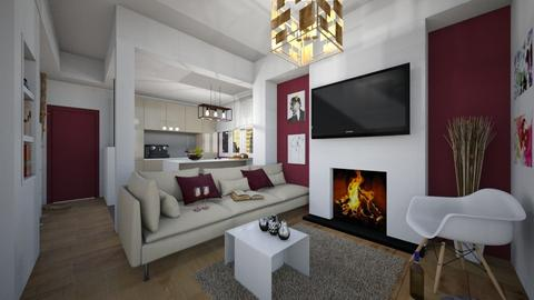 Variations_Living2 - Modern - Living room - by Laurika