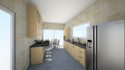 cocina - Kitchen - by eze4546