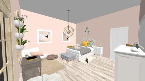 Peachy - Bedroom - by Kaitlyn Z