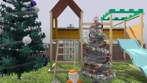 christmas garden - Garden - by evvivameiauia