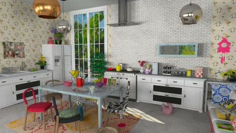 swedish kitchen - Kitchen - by russian wolf