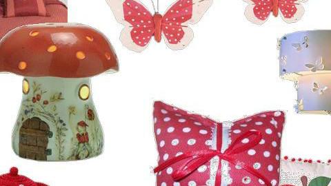 red polka - Feminine - Bedroom - by MAYAENYA